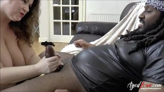 Aged Mature Enjoying bbc in Mouth and Pussy
