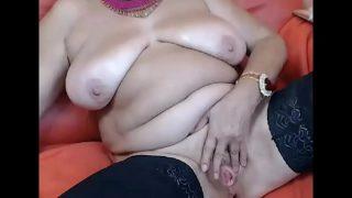 Grandma Fucks Both Holes Double pleasure Fuck