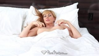 HD PureMature – Sasha Seans man has hot plans for her tight pussy