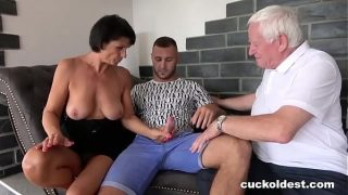 Horny mature Granny Cant Wait to be Cocked by her grandson xxx and old hubby
