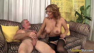 Hot and mature Nikki Ferrari fucked hard by huge cock bf