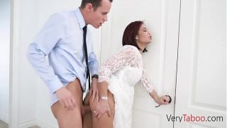 Hot mature Mom is ready to fuck Step son after divorce