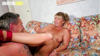 Mature Lady Annette Liselotte Spend Afternoon In The Company Of A Charming Man