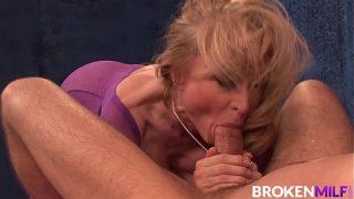 Mature Masseuse Nina Hartley Can't Resist A Cock