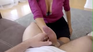 Mature stepmom is d. and horny