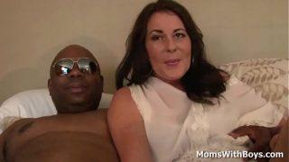 Milf Bella Rox having sex with a big black cock