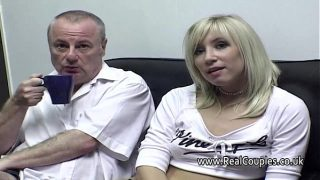 Old man cleans his Mature girl friends cummy asshole