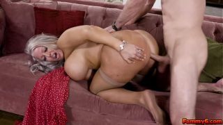Pervy mature mom wants to try her step sons fucking talent