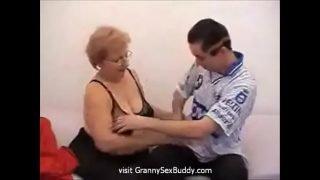 Sexy granny bbw fucked