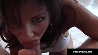Super Hot Milf, Deauxma & Hubby Have Great Oral & Anal Sex!