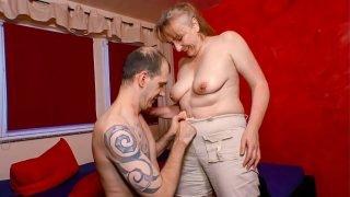 XXX OMAS – Naughty mature German granny gets screwed